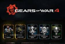 Gears of War 4 Exclusive Outsider Lancer Skin & Vintage Del DLC XBOX ONE