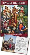"Illustrated ""Lives of the Saints"" Book for Children (RS887)"