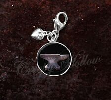 925 Sterling Silver Charm Anvil Black Smith Metal Working Image