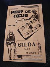 Partition Neuf de coeur Tango di Maurizi Gilda