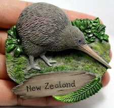 Kiwi Bird Kiwis Fridge Magnet New Zealand Symbol 3D Sculpture Collectibles New
