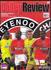 2005/06 CHARLTON ATHLETIC V FEYENOORD & AEK ATHENS 03 & 08-08-2005 Friendlies