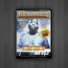 Platinum Videos New Jointz V43 Hip-Hop Rap R&B Music Videos on DVD Video DVDs