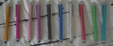 (2) Smartphone Metal Stylus     tablet pen    Pick your colors while you can!