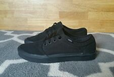 Vans Chukka Low All Black Skate Shoes - Men's 8.5 Women's 10