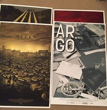 Ben Affleck Mondo Poster Collection The Town Argo Gone Baby Gone