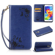 Flip Magnetic Leather WALLET Case Cover for Samsung Galaxy Note 7 S7 S6 S5 J3 J5