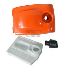 Air Filter & Cover W/ Filter Nut For Chinese Chainsaw 5200 52cc 4500 New