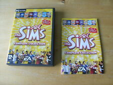PC CD ROM GAME - THE SIMS COMPLETE COLLECTION       *FREE UK P&P*