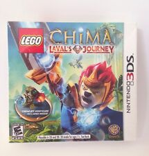 Lego Chima Laval's Journey ~ Includes Crawley Minifigure For Nintendo 3DS Game