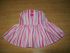 "15-17"" CPK Cabbage Patch Kids PINK STRIPES SUN DRESS w/ BUTTERFLY BUTTONS"