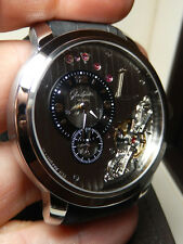 Glashutte Panoinverse XL Steel 100% LNIB PRISTINE Original Version AWESOME Piece