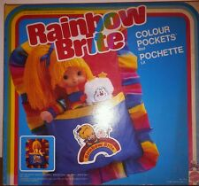 IRIDELLA RAINBOW BRITE 7568 LETTINO COLOUR POCKETS BED POCHETTE LIT BAMBOLA DOLL