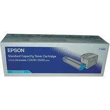 TONER ORIGINALI EPSON c13s050232 0232 CIANO per c2600 a-Ware
