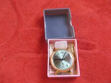Rare USSR watch ZIM POBEDA (ПОБЕДА)  gold plated .New in box with document