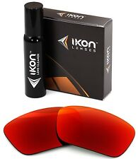 Polarized IKON Iridium Replacement Lenses For Oakley Fuel Cell Sunglasses + Red