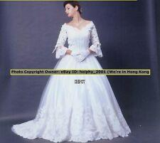 Nwt Louvas Cinderella* Vintage White Wedding Gown Dress Plus Size 18 26,30,32 3e