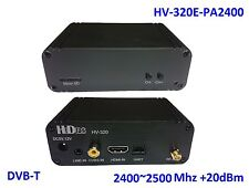 HV-320E-PA2400 FPV Full HD Video Transmitter(100~2500Mhz), HDMI/CVBS to DVB-T