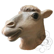 Látex Completo cabeza de animal doméstico Camel De Alta Calidad Fancy Dress Prop Partido Máscaras