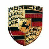 2 Porsche 911 Genuine Head Rest 3D Badge Emblem Cool On EZ-Pass