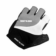 GUB FS2107 Pittards Half Finger Gel Cycling Glove Sheep Leather Gray Medium