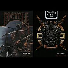 Bicycle Feudal Samurai Deck by Crooked Kings Poker Spielkarten