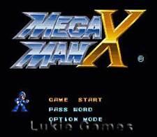 Mega Man X - Fun Classic SNES Super Nintendo Game