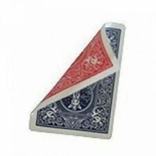 DOUBLE BACK BLUE/RED 808 RIDER BACK BICYCLE DECK OF PLAYING CARDS MAGIC TRICKS