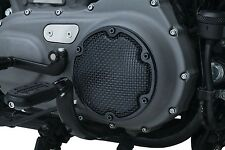 Kuryakyn Mesh Derby Cover in Satin Black for Harley Sportster 04-17