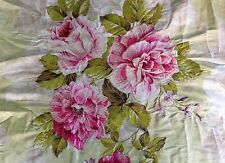 DESIGNERS GUILD FABRIC ROYAL COLLECTION GALLICA ROSE EMBRODERD SILK  ROSE 20X11""