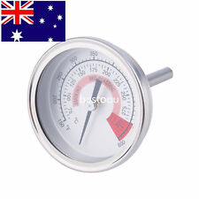 Stainless Steel Barbecue BBQ Pit Smoker Grill Thermometer Gauge 300 S##