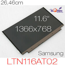 "26.46cm 11.6"" NOTEBOOK LED DISPLAY SAMSUNG LTN116AT02 WXGA+ HD 1366x768 GLANZ OK"