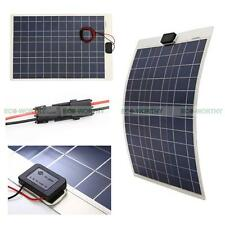 50W Poly Semi Flexbile Solar Panel For 12V Caravan Electric carts Boat Motor