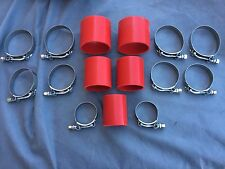 1986-1987 Grand National MAF Pipe Turbo Silicone Intercooler Hoses T-Bolt Clamps