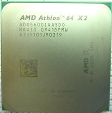 AMD Athlon 64 X2 5600+ Socket AM2 Dual Core 2.9 Ghz ADO5600IAA5DO Free Shipping