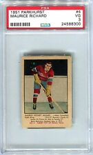 1951 Parkhurst #4 Maurice Richard Hall Of Fame HOF Rookie RC PSA 3 VG