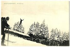 CPA Suisse Sports d'hiver Saut à Ski