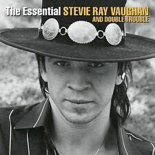 STEVIE RAY VAUGHAN - THE ESSENTIAL STEVIE RAY VAUGHN & DOUBLE TROUBLE CDS