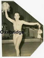 Gay Interest Male Stripper Cross Dresser 1950 PHOTO Drag Queen He-She SheMale