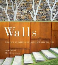 Walls: Elements of Garden and Landscape Architecture-ExLibrary