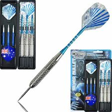 SILVER BULLET Nickel Silver 27g DARTS SET High Performance!