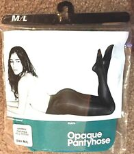 NEW American Apparel (Lot of 3 Pairs) RSAPH Opaque Pantyhose Columbia Size M / L