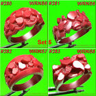 # SET 5 NUGGET RINGS SETTING 8 WAX PATTERNS FOR CASTING JEWELRY MOLDS