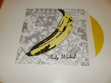 TRIBUTE TO ANDY WARHOL - LIMITED YELLOW LP CRAZY MANNEQUIN RECORDS ITALY - M/EX-