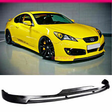 Fit For 10-12 Hyundai Genesis Coupe Front Bumper Lip Spoiler PU Polyurethane