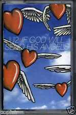 U2 - IF GOD WILL SEND HIS ANGELS / MOFO REMIX 1997 EUROPEAN CASSINGLE BONO