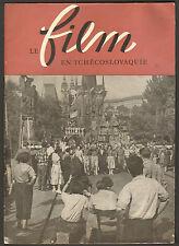 JAN SOUKUP SPECIAL LE FILM EN TCHECOSLOVAQUIE PRAHA 1955