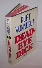 DEAD EYE DICK - KURT VONNEGUT - 1982 - FIRST EDITION 1st PRINTING