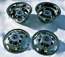 "GM Chevy 3500HD 17"" Stainless Steel Dually Wheel Simulator Set for 2011~Current"