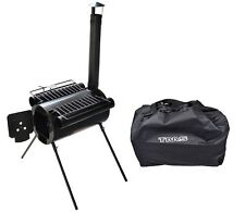 Portable Military Steel Hunting Camping BBQ Cooking Wood Stove Tent with Bag